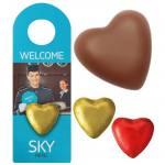 Cartão de Porta com Chocolate