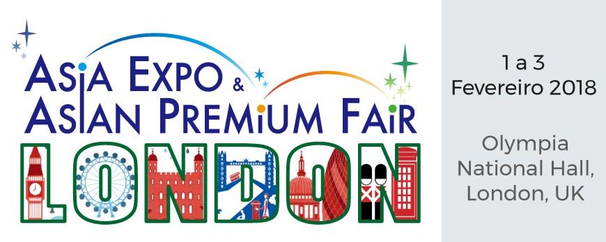 Effect marca presença na Asia Expo - Asian Premium Fair, Londres
