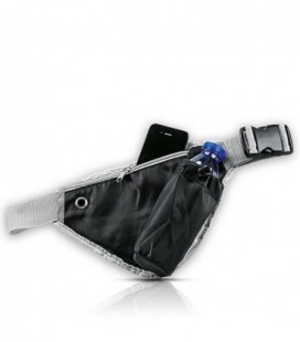 Bolsa de cintura Marathon com porta-garrafas P-420D