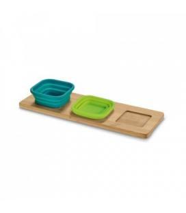 PICKLED. Base de mesa com 3 taças