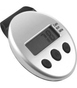 Podómetro com clipe