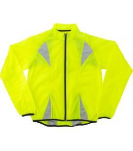 Jaqueta fluorescente