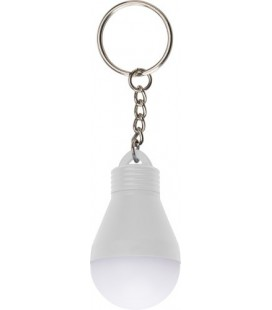Porta-chaves de plástico em forma de lâmpada
