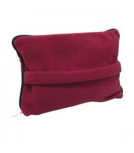 Manta quente de viagem com bolsa, poliéster 200 grs/m2