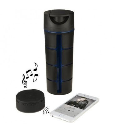 "Garrafa com audio Bluetooth® ""Rhythm"""