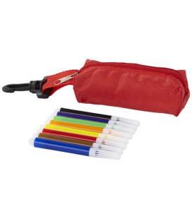 "Conjunto de 8 marcadores coloridos com bolsa ""Bolt"""