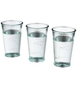 """Conjunto de 3 copos de vidro reciclado """"Ford"""""""