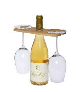 "Tábua para garrafa e copo de vinho ""Mill"""