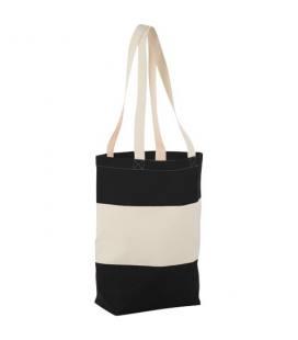 """Saco de algodão 227 g/m² com alças compridas """"Colour Block"""""""