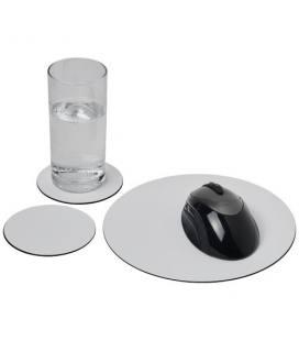 Conjunto de tapete para rato e base para copos Brite-Mat® 5