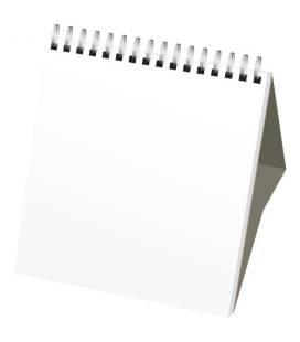 Calendário mensal de secretária Classic com capa rígida