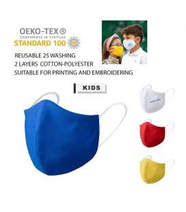 Máscara Higiênica Criança Reutilizável GALANT
