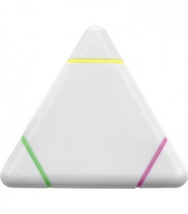 Marcador ABS fluorescente triangular