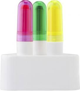 Conjunto de marcador fluorescente de cera