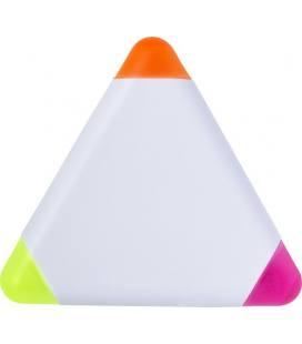 Marcador em ABS triangular.
