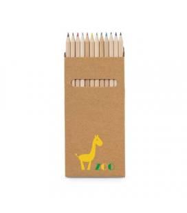 CROCO. Caixa com 12 lápis de cor