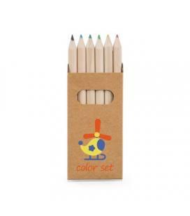 BIRD. Caixa com 6 lápis de cor