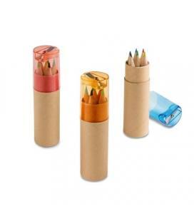 ROLS. Caixa com 6 lápis de cor