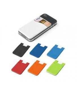 SHELLEY. Porta-cartões para smartphone