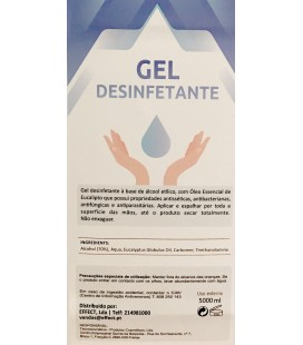 Gel Desinfectante - 5 Litros